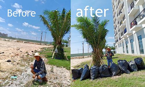 Người Việt dọn sạch rác hưởng ứng thách thức trên mạng - Ảnh 2