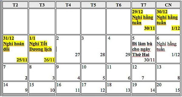 Trình gộp nghỉ lễ 30/4-1/5 và Tết Dương lịch, liệu có khả thi? - Ảnh 3
