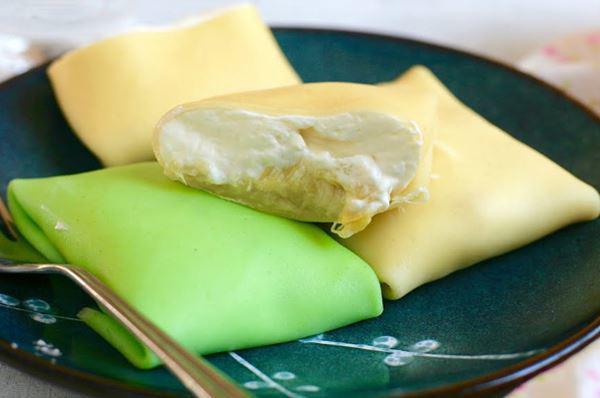 2 cách làm bánh crepe sầu riêng ngon, đơn giản tại nhà - Ảnh 8