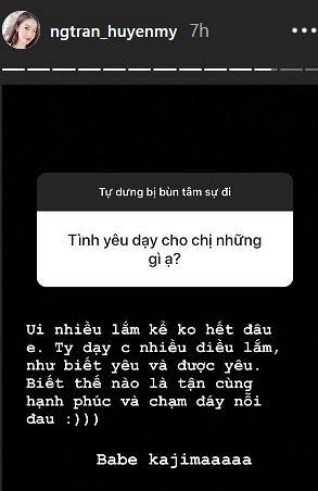 Á hậu Huyền My tiết lộ bị mất ngủ và bật mí cho fan bí quyết giảm cân - Ảnh 3