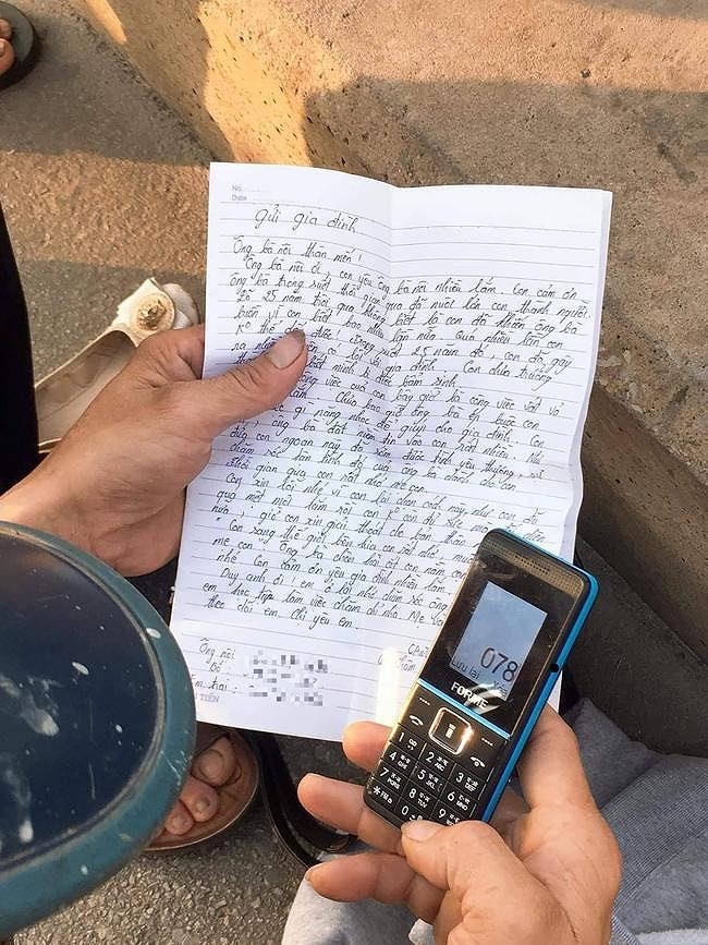 Xót xa lá thư gửi gia đình của cô gái trẻ trước khi nhảy cầu Bãi Cháy tự tử: Con sang bên kia, con rất nhớ và muốn gặp mẹ... - Ảnh 1