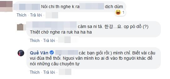 Bị chê nói tiếng Hàn nhưng không ai hiểu, Quế Vân đáp trả - Ảnh 5