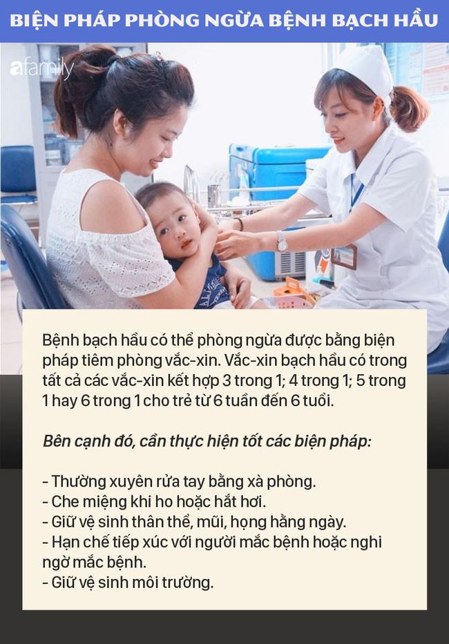 2 bé ở Đắk Nông mắc bệnh bạch hầu: Những điều cần biết về bệnh nhiễm trùng dễ dàng qua đường hô hấp này để phòng bệnh tốt nhất - Ảnh 5