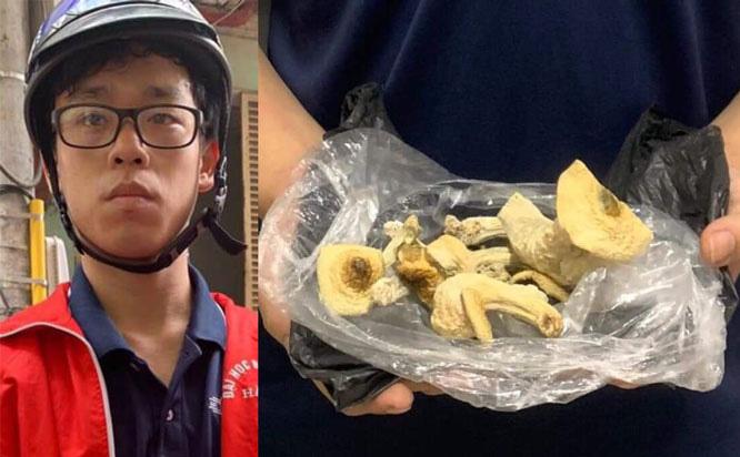 Hà Nội: Bắt quả tang nam thanh niên mang 'nấm ma túy' đi tiêu thụ - Ảnh 1