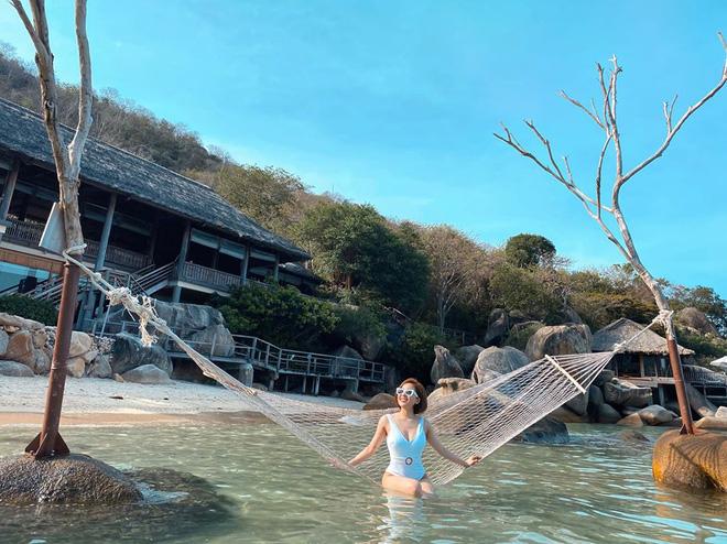 Hot girl Trâm Anh lần đầu đăng ảnh bikini nóng bỏng sau biến cố - Ảnh 3