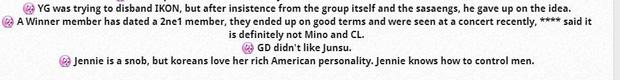 Mật báo Kbiz: IU phũ Jungkook, Lee Min Ho hẹn hò idol không ai ngờ, râm ran về tính cách Jennie (BLACKPINK) và 101 tin đồn - Ảnh 13
