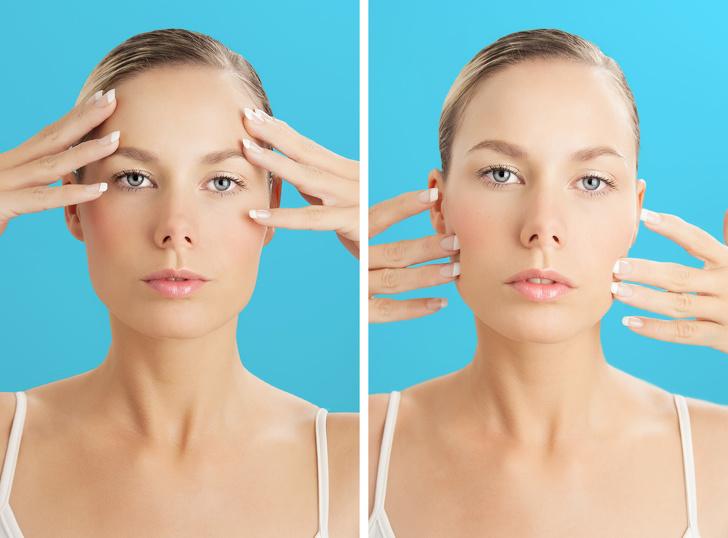 Muốn sở hữu làn da trắng mướt như gái Hàn, tươi trẻ như gái Nhật, hãy thực hiện 7 bài tập yoga cho khuôn mặt này mỗi ngày - Ảnh 1