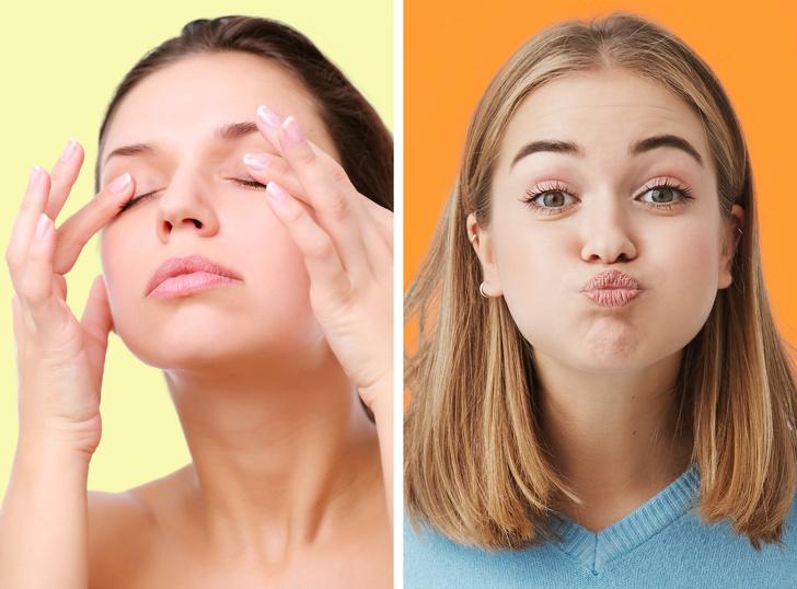 Muốn sở hữu làn da trắng mướt như gái Hàn, tươi trẻ như gái Nhật, hãy thực hiện 7 bài tập yoga cho khuôn mặt này mỗi ngày - Ảnh 6