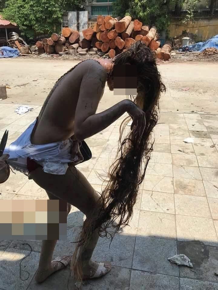 Tiết lộ bất ngờ về cô gái nghi bị đánh ghen cắt nát quần áo, đổ mắm tôm bê bết lên đầu - Ảnh 2