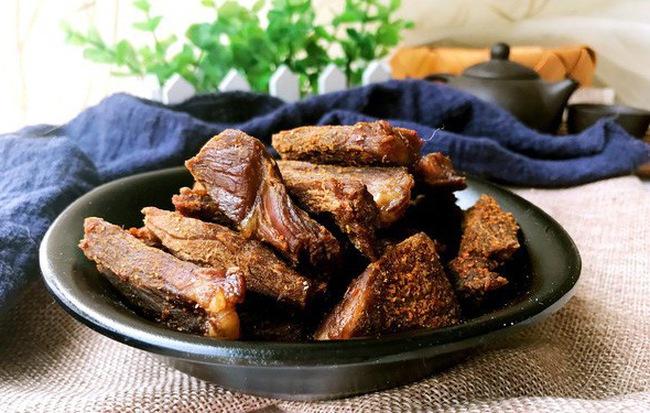 Dùng nồi cơm điện để làm thịt bò khô: Vô cùng dễ - nhanh và ngon - Ảnh 3