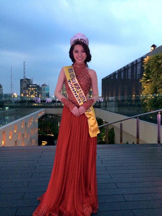 Cận cảnh nhan sắc thật của hoa hậu Jolie Nguyễn khi chưa phẫu thuật thẩm mỹ - Ảnh 1