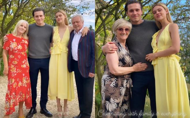 Con dâu nhà tỷ phú tiết lộ bí mật đằng sau bức ảnh đính hôn với Brooklyn Beckham, hoá ra cả Harper và Victoria giúp sức - Ảnh 4