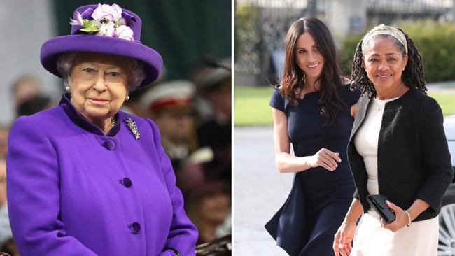 Meghan Markle 'được voi đòi tiên' khi muốn mẹ đẻ trở thành nữ bá tước và thái độ rõ ràng của Nữ hoàng Anh - Ảnh 1