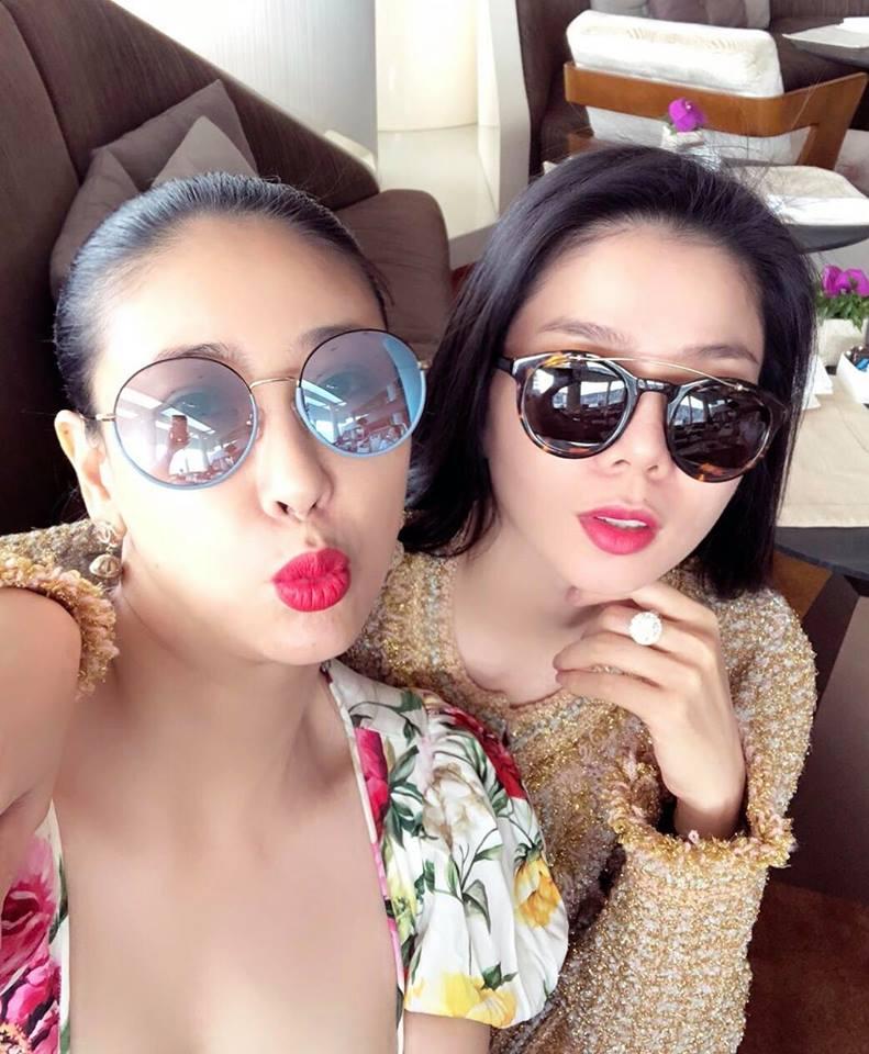Hoa hậu Hà Kiều Anh, Lệ Quyên xinh đẹp đọ sắc, ai gợi cảm hơn? - Ảnh 2