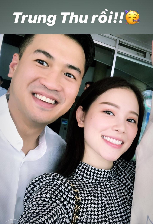 Em chồng Tăng Thanh Hà công khai đăng ảnh tình tứ với bạn gái Linh Rin - Ảnh 1