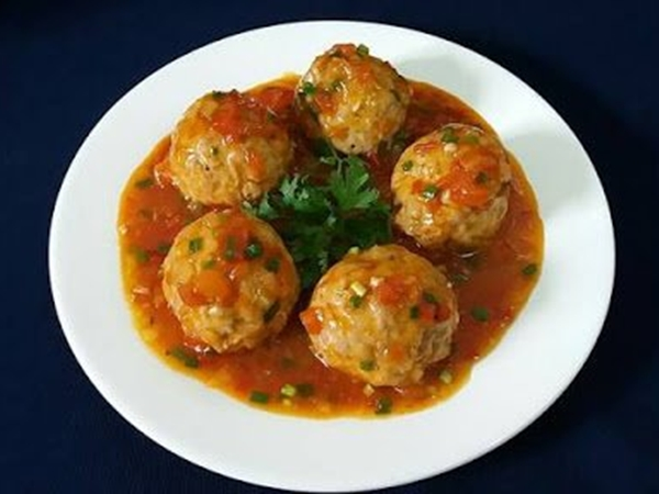 Công thức cho món thịt viên sốt cà chua cực ngon miệng - Ảnh 5