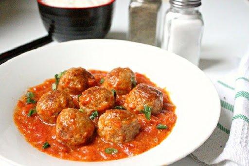 Công thức cho món thịt viên sốt cà chua cực ngon miệng - Ảnh 7