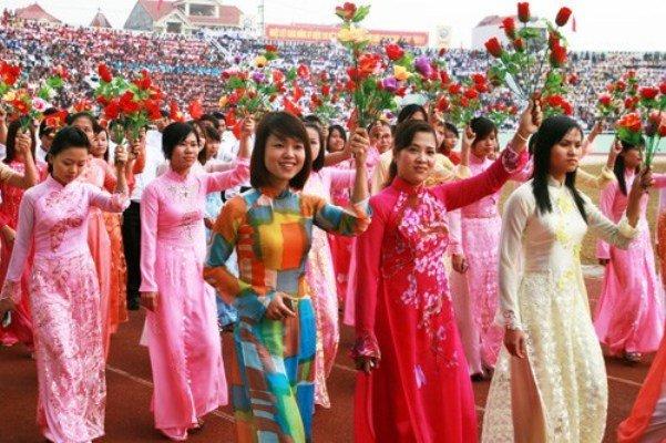 Ngày phụ nữ Việt Nam 20/10 mang nhiều giá trị lịch sử và ý nghĩa thiêng liêng