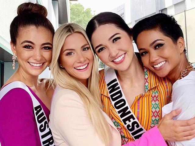 Hoa hậu Mỹ bị dân mạng 'tấn công' vì chê tiếng Anh của H'Hen Niê - Ảnh 1