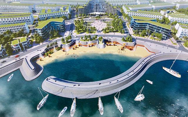 Dự án lấn biển Lý Sơn trị giá 1.700 tỷ, người dân dè dặt vì lo - Ảnh 1