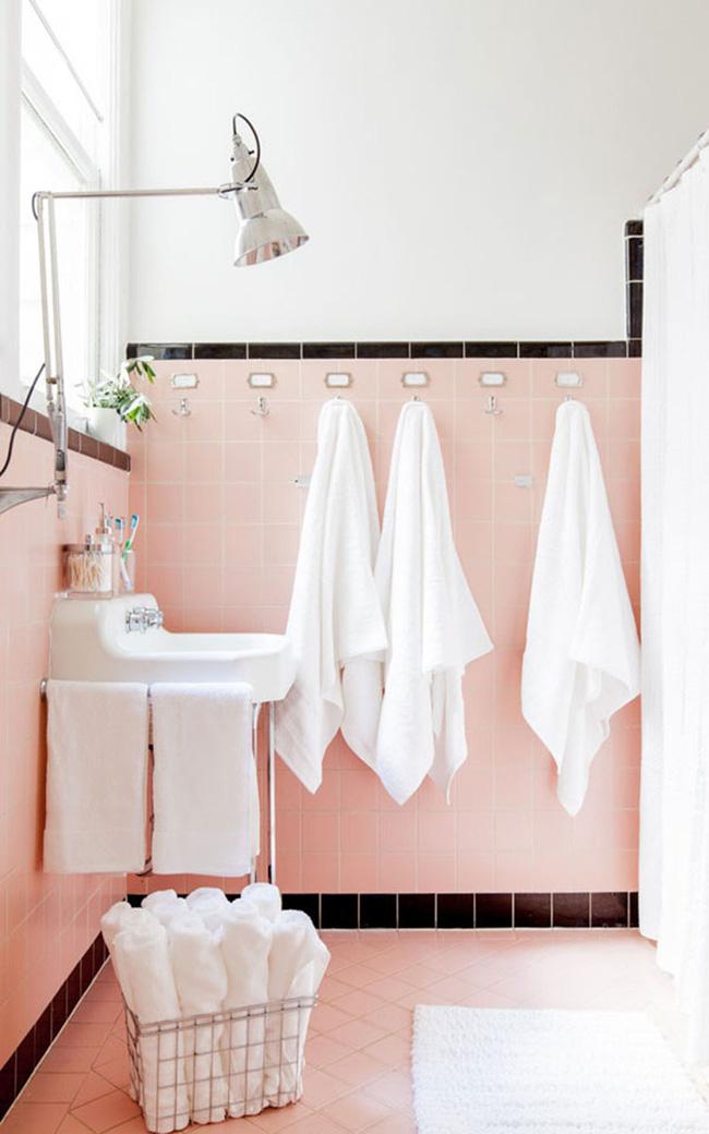 Những mẹo nhỏ mà có võ bất ngờ cho phòng tắm gia đình thêm xinh - Ảnh 9