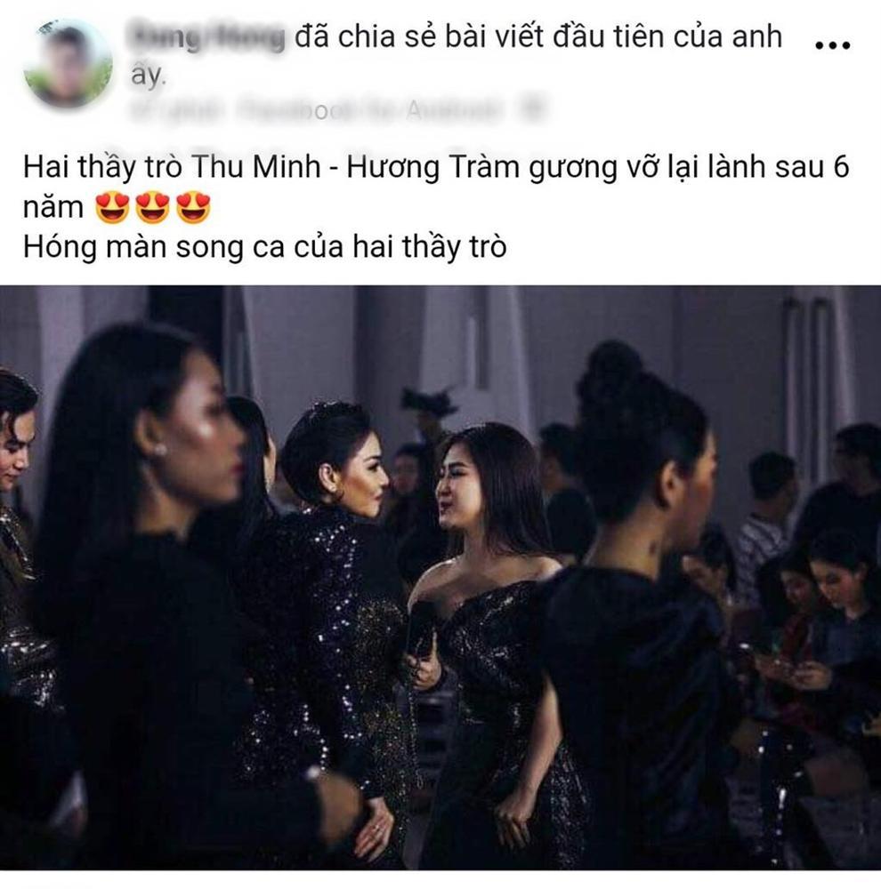 Thu Minh chúc mừng liveshow của Hương Tràm sau 6 năm cạch mặt? - Ảnh 1