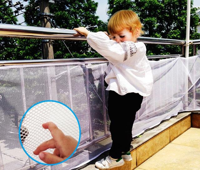 Các loại lưới an toàn cho nhà cao tầng, cầu thang bảo vệ trẻ nhỏ và những điều bạn cần biết khi chọn mua - Ảnh 5