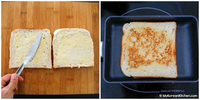 Làm bánh mì sandwich kiểu Hàn cho bữa trưa nhanh gọn đủ chất - Ảnh 3