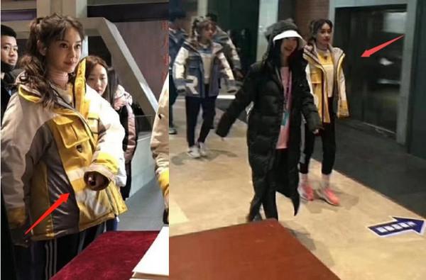 Angelababy lộ vòng eo to bất thường trong loạt ảnh hậu trường 'Keep Running'? - Ảnh 3