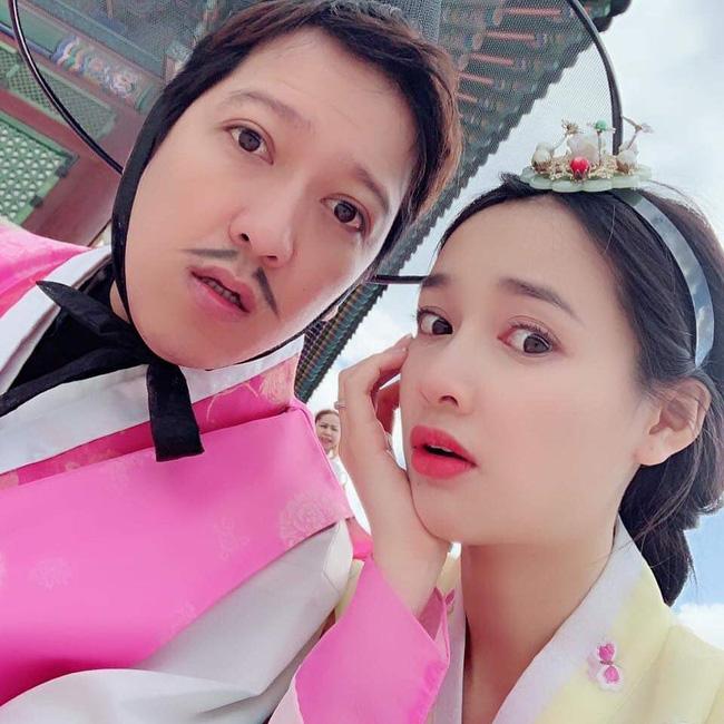 Chia sẻ đoạn hội thoại tình tứ của 2 vợ chồng, Nhã Phương - Trường Giang khiến fan phấn khích: Sến quá - Ảnh 2