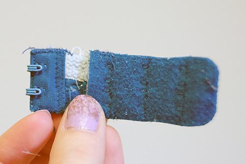 Nối phần móc và phần cài áo với nhau được ngay miếng nới rộng áo lót bị chật tiện dụng