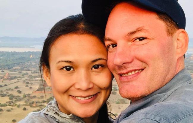 Chồng cũ Hồng Nhung lần đầu xuất hiện sau đám cưới xa hoa với vợ mới - Ảnh 1