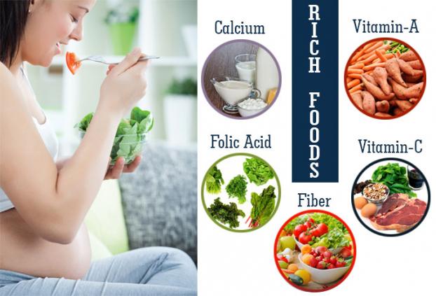 Chế độ ăn uống trong tháng thứ 9 thai kỳ - Ảnh 1
