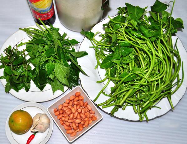 Cách làm nộm rau muống giòn ngon đúng điệu cực đơn giản, cơm ăn bao nhiêu cũng hết - Ảnh 2