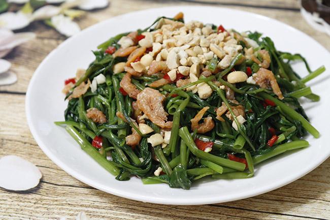 Cách làm nộm rau muống giòn ngon đúng điệu cực đơn giản, cơm ăn bao nhiêu cũng hết - Ảnh 1