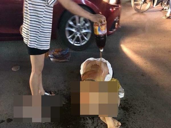 Triệu tập 4 người đánh ghen bằng cách đổ nước mắm, muối ớt lên người cô gái trẻ ở Thanh Hóa - Ảnh 1
