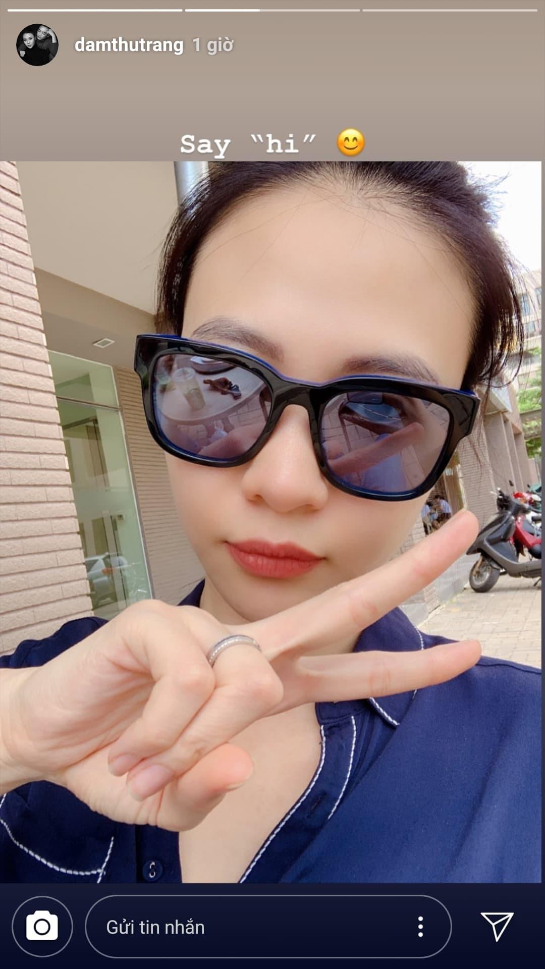 Đàm Thu Trang biểu hiện 'tăng động' trước giờ G, tung ảnh cưới 'đẹp phát hờn' - Ảnh 1