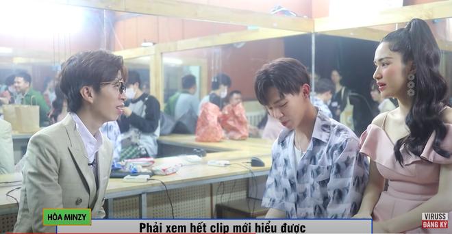 Gặp mặt sau 2 tháng, Hoà Minzy thẳng thắn 'chất vấn' lại ViruSs: 'Anh chê em hát yếu như thế nào?' - Ảnh 3
