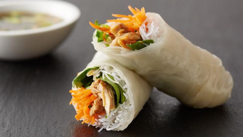 Bữa trưa nhanh gọn mà ngon với món bún cuốn thịt gà - Ảnh 6