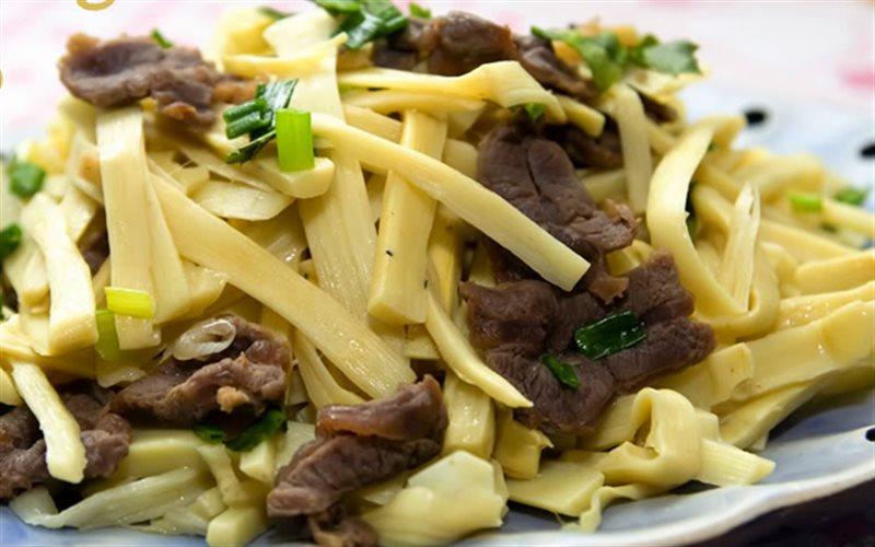 Măng xào thịt bò - món ăn siêu nhanh, siêu ngon cho bữa tối - Ảnh 1