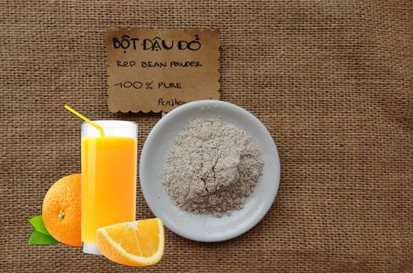 Công thức trị mụn an toàn bằng bột đậu đỏ - Ảnh 2