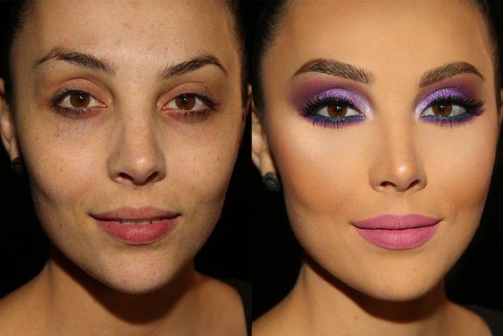 13 màn 'vịt hóa thiên nga' chứng minh sức mạnh vi diệu của trang điểm, phụ nữ không biết makeup là phí cả đời - Ảnh 1