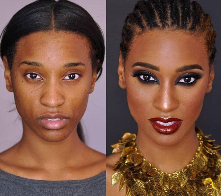 13 màn 'vịt hóa thiên nga' chứng minh sức mạnh vi diệu của trang điểm, phụ nữ không biết makeup là phí cả đời - Ảnh 10