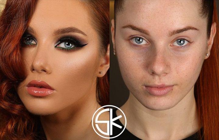 13 màn 'vịt hóa thiên nga' chứng minh sức mạnh vi diệu của trang điểm, phụ nữ không biết makeup là phí cả đời - Ảnh 2