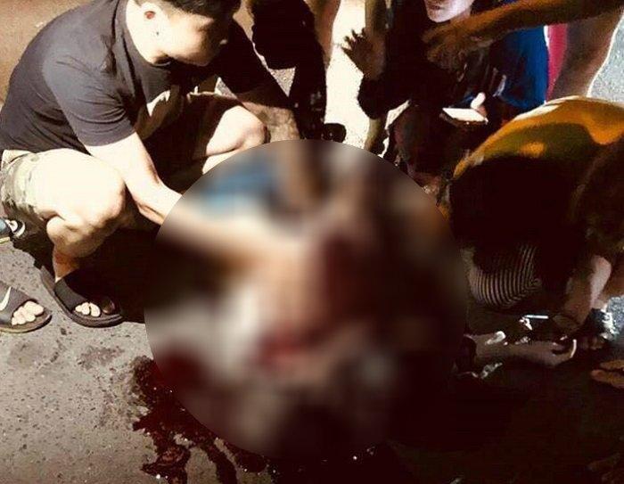 Cô gái nghi bị bạn trai đâm gục giữa phố Hà Nội - Ảnh 1
