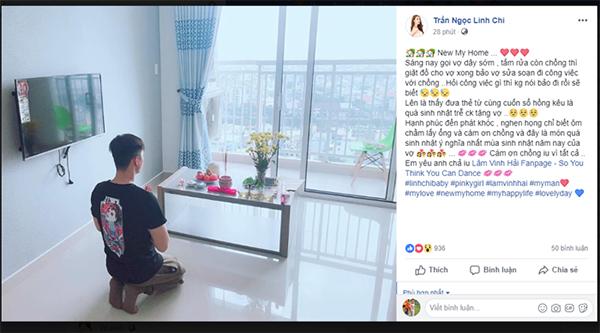 Linh Chi được Lâm Vinh Hải tặng thẻ từ và sổ hồng căn nhà mới nhân dịp sinh nhật - Ảnh 1