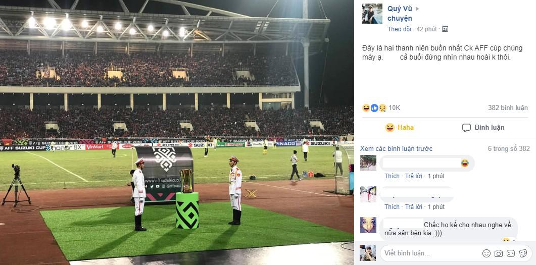 Bình tĩnh tạo nên sự quý tộc: Hai thanh niên canh cup sáng nhất Mỹ Đình trong đêm đăng quang của đội tuyển Việt Nam - Ảnh 2