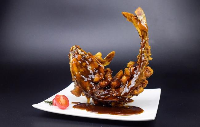 Món cá chiên giòn đẹp như nhà hàng tưởng không dễ mà dễ không tưởng - Ảnh 6