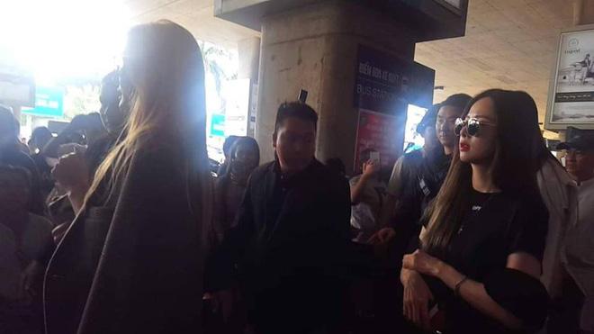 EXID xuất hiện chớp nhoáng ở sân bay Tân Sơn Nhất, nữ thần Hani chiếm trọn spotlight - Ảnh 3