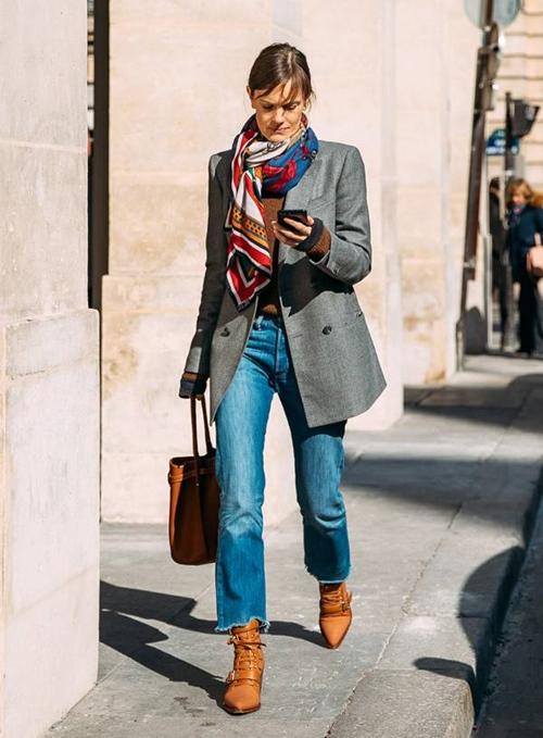 Quên kiểu quần jeans bó giò đi, đây mới là mốt jeans thống trị 2019 - Ảnh 11